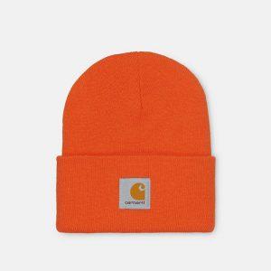 כובע קארהארט לגברים Carhartt WIP Acrylic Watch Hat - כתום