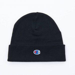 כובע צ'מפיון לגברים Champion Beanie Cap - שחור פחם