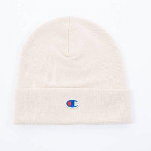 כובע צ'מפיון לגברים Champion Beanie Cap - לבן מלא