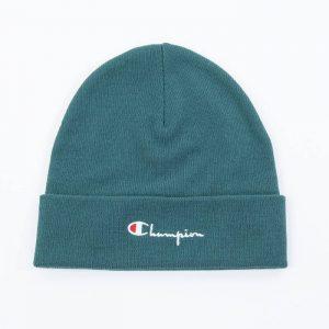 כובע צ'מפיון לגברים Champion Beanie Cap - ירוק כהה