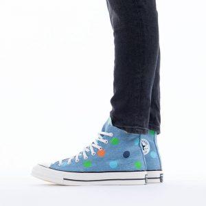נעלי סניקרס קונברס לגברים Converse x Golf Wang Chuck 70 Hi - כחול