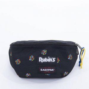 תיק איסטפק לגברים EASTPAK x Rubik's Padded Springer - שחור