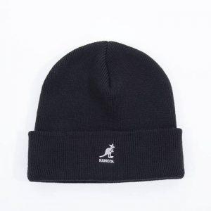 כובע קנגול לגברים Kangol Acrylic Pull-On - שחור/לבן