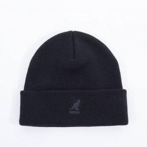 כובע קנגול לגברים Kangol Acrylic Pull-On - שחור מלא