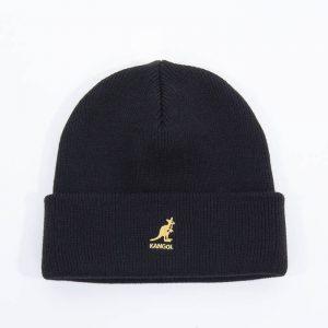 כובע קנגול לגברים Kangol Acrylic Pull-On - שחור/צהוב