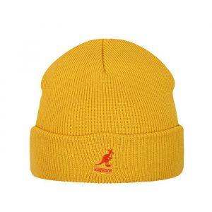 כובע קנגול לגברים Kangol Acrylic Pull-On - צהוב