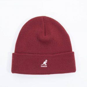 כובע קנגול לגברים Kangol Acrylic Pull-On - אדום