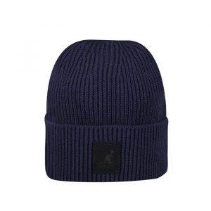 כובע קנגול לגברים Kangol Patch Beanie - כחול