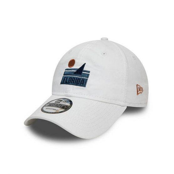כובע ניו ארה לגברים New Era Location 9Twenty - לבן