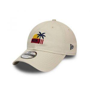כובע ניו ארה לגברים New Era Location 9Twenty - בז'