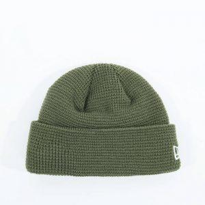 כובע ניו ארה לגברים New Era Short Knit - ירוק