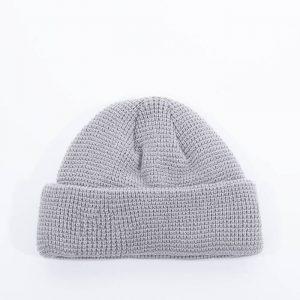 כובע ניו ארה לגברים New Era Short Knit - אפור