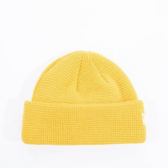 כובע ניו ארה לגברים New Era Short Knit - צהוב