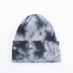 כובע ניו ארה לגברים New Era Tie Dye Cuff Knit - צבעוני כהה