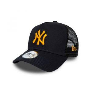 כובע ניו ארה לגברים New Era Trucker New York Yankees - שחור