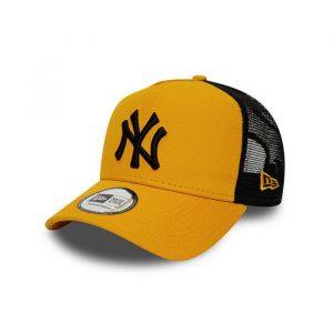 כובע ניו ארה לגברים New Era Trucker New York Yankees - צהוב