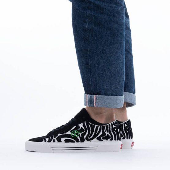 נעלי סניקרס ואנס לגברים Vans x Anderson Paak Sid Dx - שחור/לבן