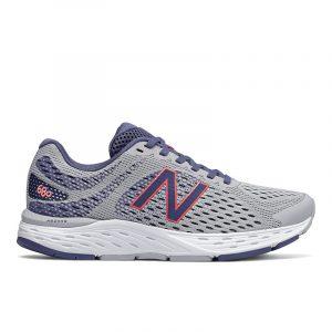 נעלי ריצה ניו באלאנס לנשים New Balance W680 V6 - אפור/כחול
