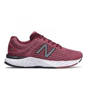 נעלי ריצה ניו באלאנס לנשים New Balance W680 V6 - אדום יין