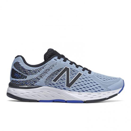 נעלי ריצה ניו באלאנס לנשים New Balance W680 V6 - כחול/שחור
