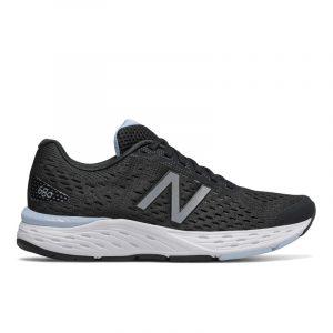 נעלי ריצה ניו באלאנס לנשים New Balance W680 V6 - שחור/תכלת