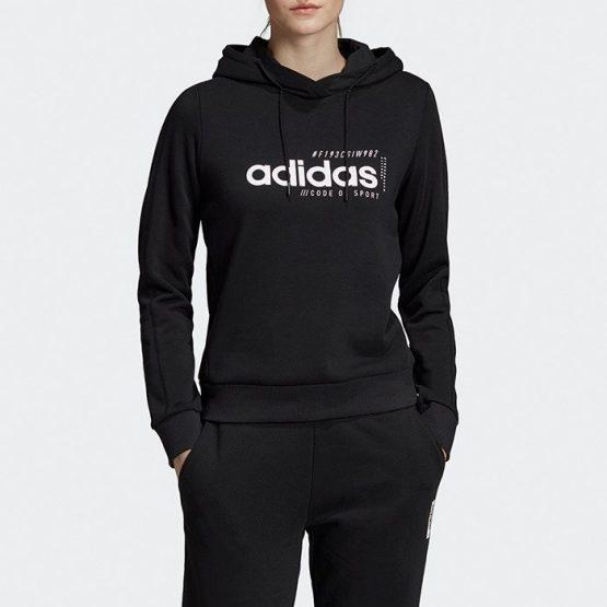 סווטשירט אדידס לנשים Adidas Brilliant Basic - שחור