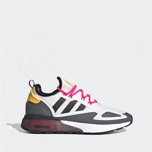 נעלי סניקרס אדידס לנשים Adidas Originals x Ninja Zx 2K Boost - לבן
