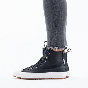 נעלי סניקרס קונברס לנשים Converse Chuck Taylor All Star Hi - שחור