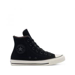 נעלי סניקרס קונברס לנשים Converse Chuck Taylor All Star Hi - שחור/לבן