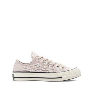 נעלי סניקרס קונברס לנשים Converse Chuck Taylor All Star Hi - ורוד/לבן