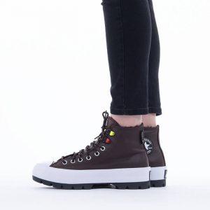 נעלי סניקרס קונברס לנשים Converse Chuck Taylor All Star Hi - חום