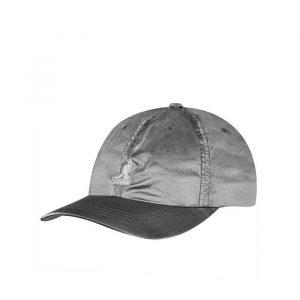כובע קנגול לנשים Kangol Iridescent Basseball - כסף