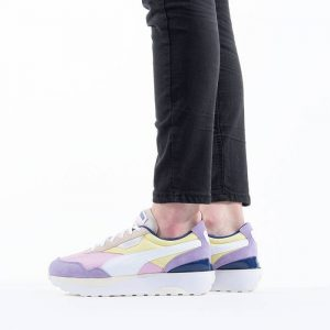 נעלי סניקרס פומה לנשים PUMA Cruise Rider Silk Road - צבעוני בהיר