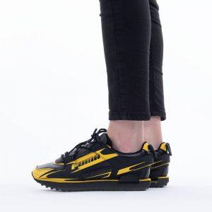 נעלי סניקרס פומה לנשים PUMA x Central Saint Martins Mile Rider For the love of water - שחור/צהוב