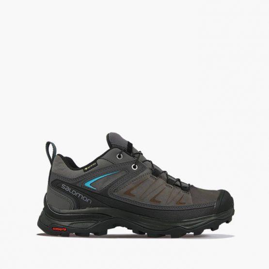 נעלי טיולים סלומון לנשים Salomon X Ultra 3 Gore-Tex Gtx - אפור