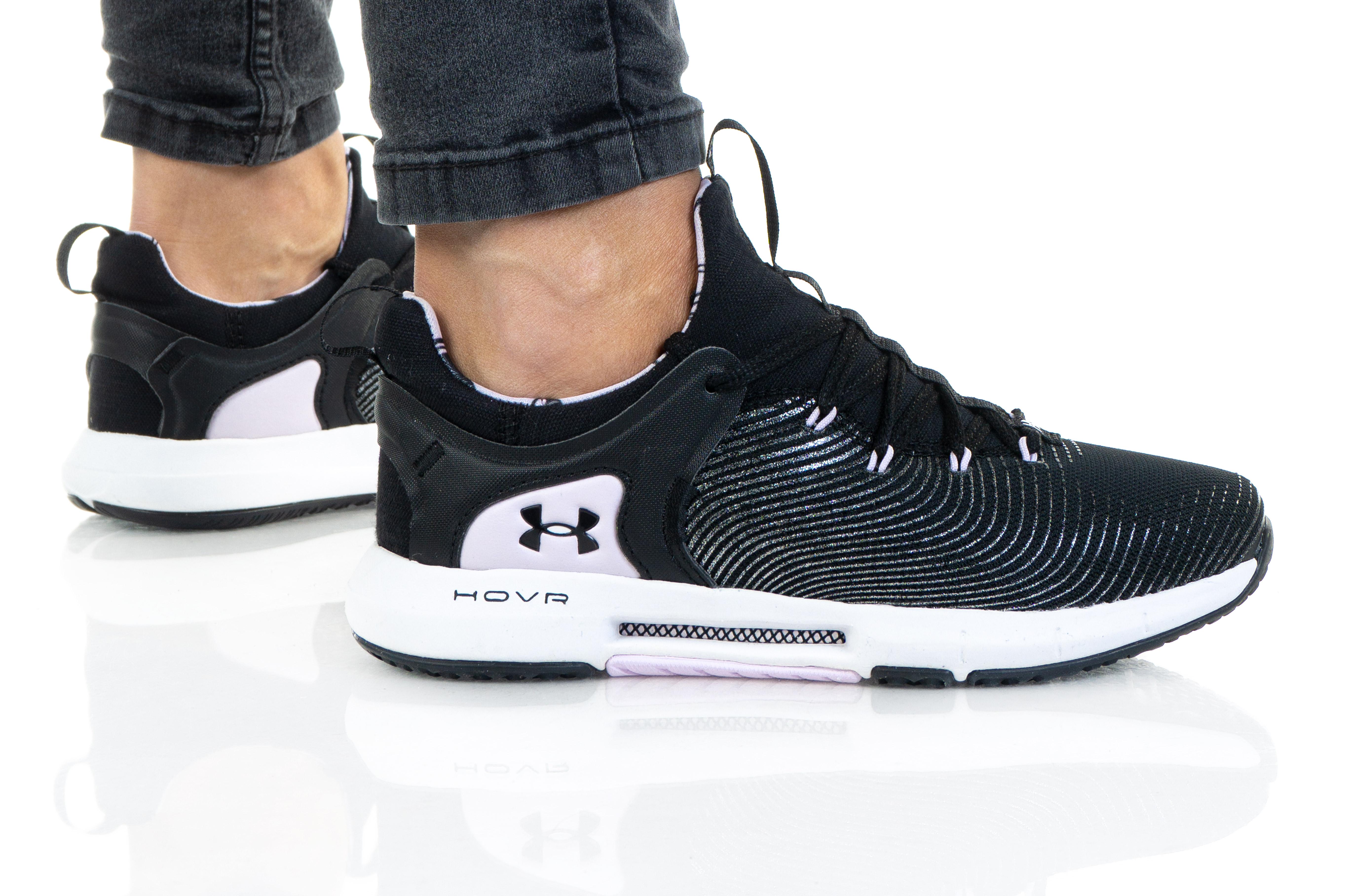 נעלי אימון אנדר ארמור לנשים Under Armour HOVR RISE 2 LUX - שחור