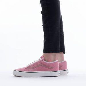 נעלי סניקרס ואנס לנשים Vans Old Skool Mte - ורוד בהיר