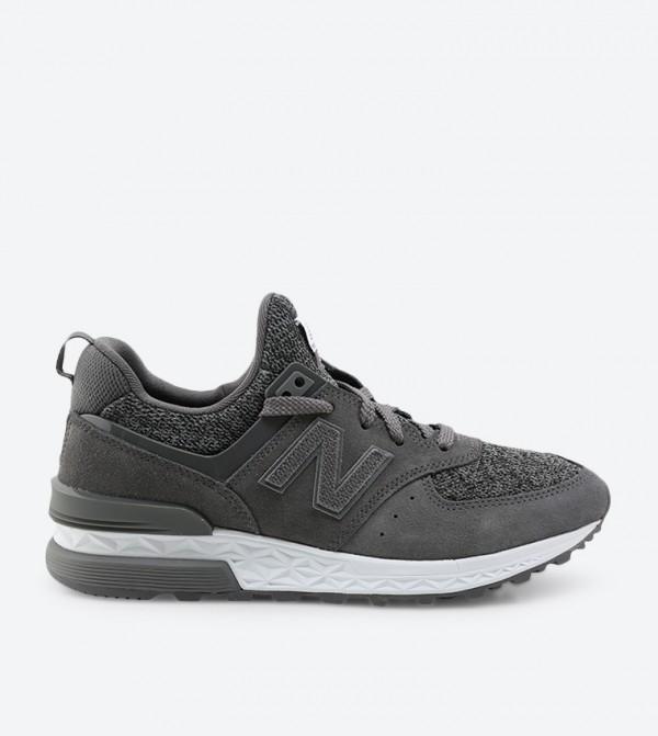 נעלי ריצה ניו באלאנס לנשים New Balance WS574 - אפור כהה