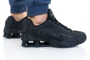 נעלי סניקרס נייק לגברים Nike SHOX R4 - שחור