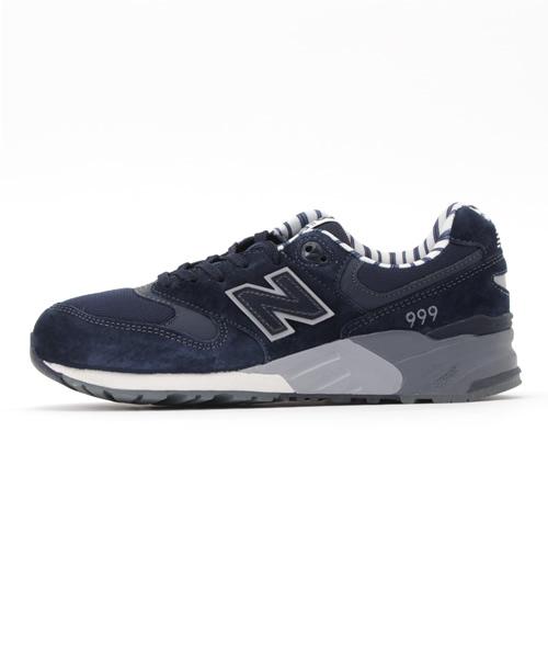 נעלי סניקרס ניו באלאנס לנשים New Balance WL999 - כחול