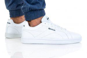נעלי סניקרס ריבוק לגברים Reebok ROYAL COMPLETE CLN - לבן מלא