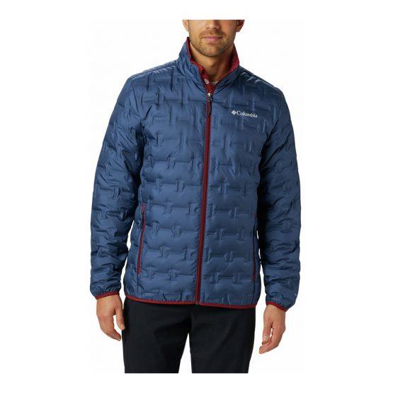 ג'קט ומעיל קולומביה לגברים Columbia DELTA RIDGE - כחול/אדום
