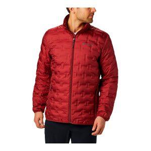 ג'קט ומעיל קולומביה לגברים Columbia DELTA RIDGE - אדום