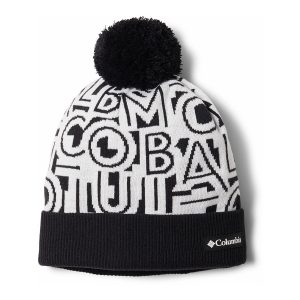 כובע קולומביה לגברים Columbia POLAR POWDER - שחור/לבן