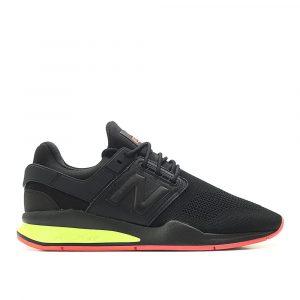 נעלי הליכה ניו באלאנס לגברים New Balance MS247 - שחור/צהוב