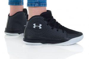 נעלי סניקרס אנדר ארמור לנשים Under Armour GS JET 2019 - שחור