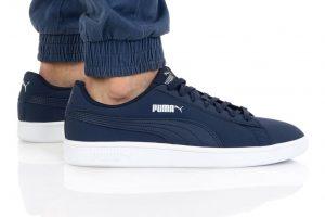 נעלי סניקרס פומה לגברים PUMA SMASH V2 BUCK - כחול כהה
