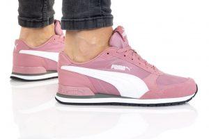 נעלי סניקרס פומה לנשים PUMA ST RUNNER V2 MESH - ורוד בהיר