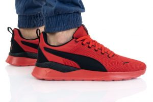 נעלי אימון פומה לגברים PUMA Anzarun Lite - שחור/אדום