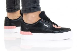 נעלי סניקרס פומה לנשים PUMA Carina Lift - ורוד/שחור